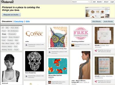 美国图片分享社交网站pinterest 400