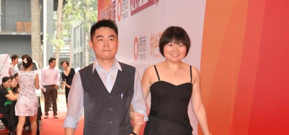 浩趣信息科技(上海)有限公司赵玮和Zine Plus Linited的焦中华亮相红地毯