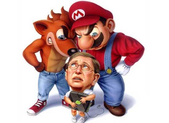 微软、任天堂、索尼该如何角逐移动游戏?