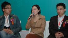荣获创新中国2012创新之星的</br>至唯锋尚尚丹受到媒体青睐